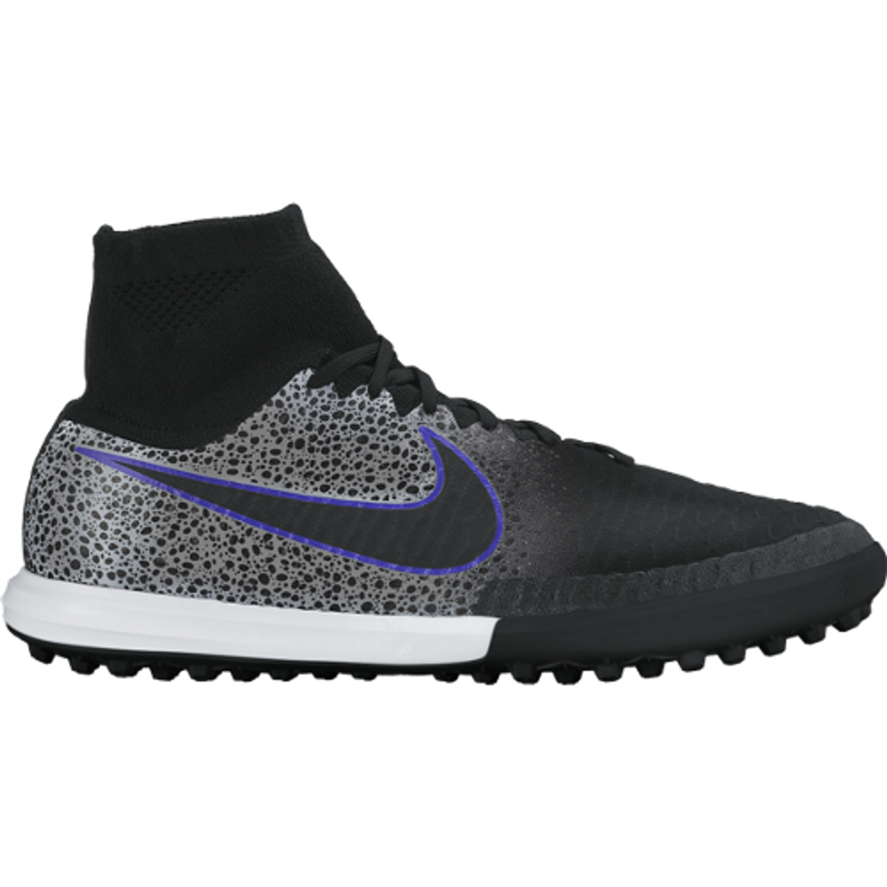 purchase cheap 46af8 eec5e NIKE MAGISTAX PROXIMO TF BLACK WOLF GREY turf soccer shoes - Soccer Plus