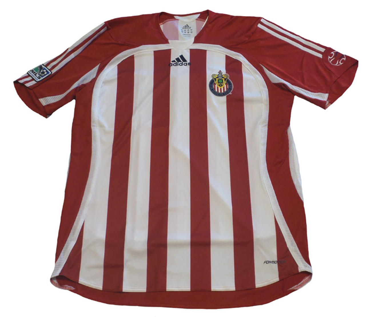 big sale d7eaa c2e40 ADIDAS CHIVAS USA 2007 HOME PLAYERS VERSION JERSEY - Soccer Plus