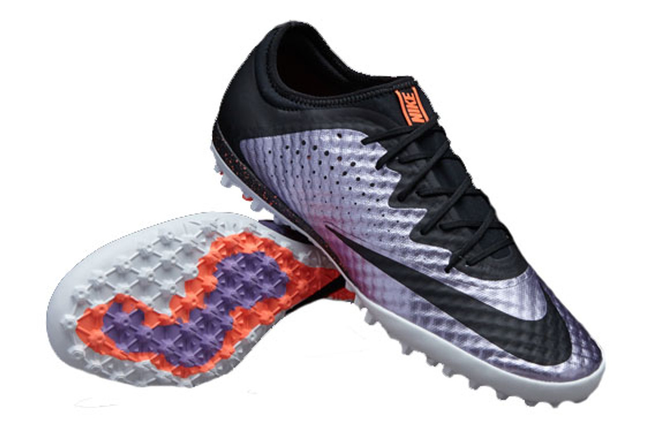 the best attitude ccb86 87992 NIKE MERCURIALX FINALE TF turf soccer shoes urban lilac/bright mango