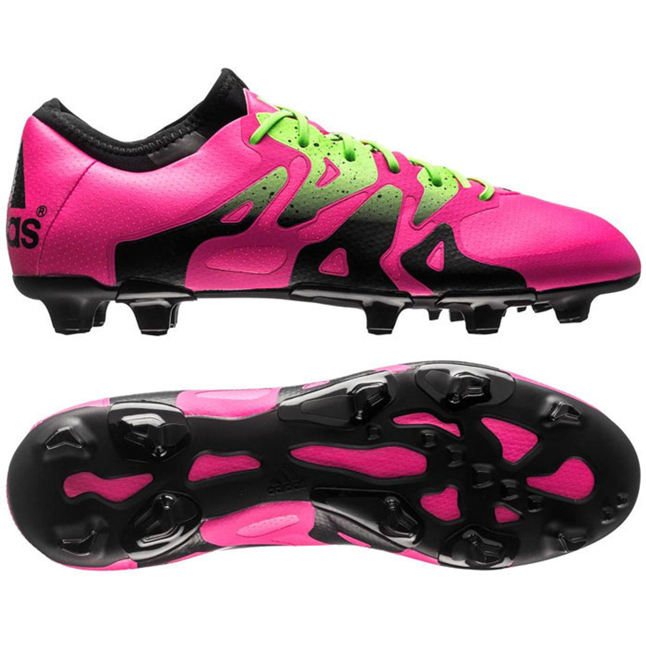 the latest eb83a b429b ADIDAS X 15.1 FG AG firm ground soccer cleats shock pink - Soccer Plus