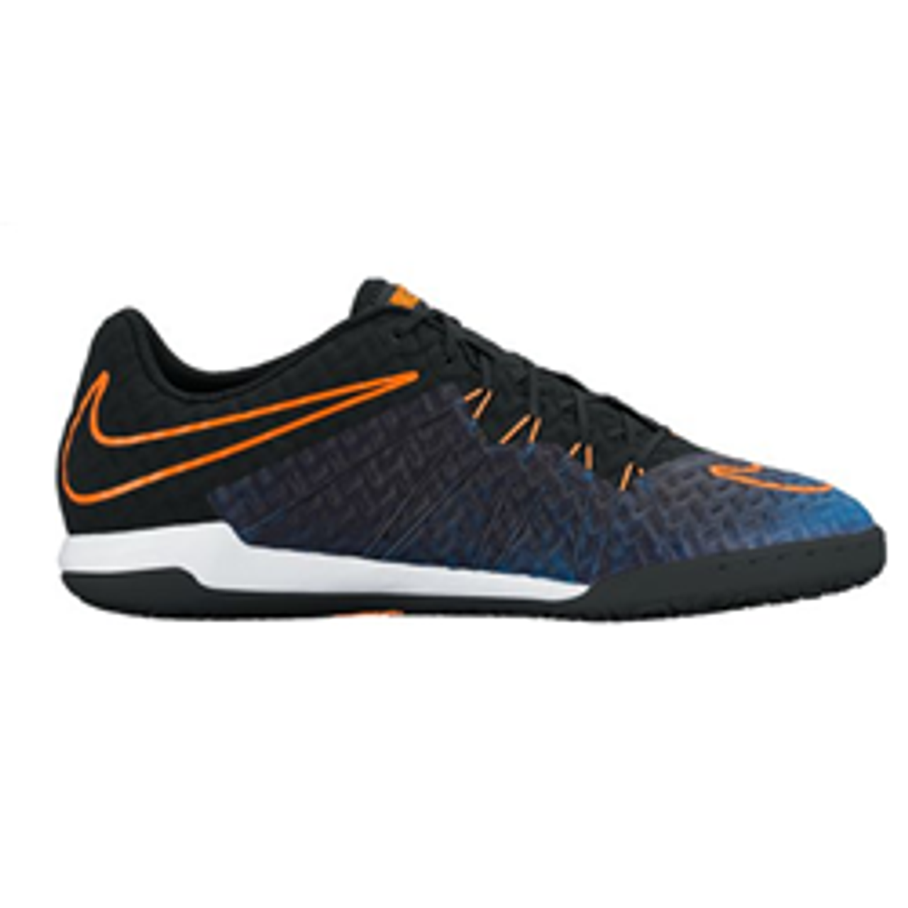 new concept e588f a2464 NIKE HYPERVENOMX FINALE IC indoor soccer shoes black/racer blue