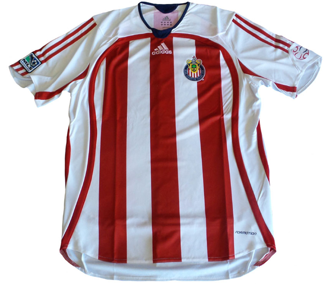 info for a1f9e ad799 ADIDAS CHIVAS USA 2006 AWAY PLAYERS VERSION JERSEY