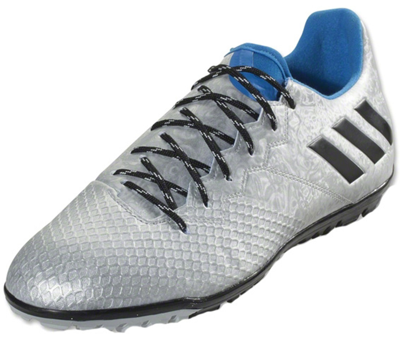 b3d9c163e ADIDAS MESSI 16.3 TF Turf Silver Metallic - Soccer Plus