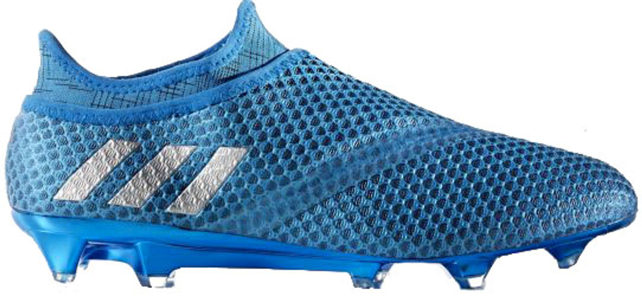 firm ground soccer cleats blue