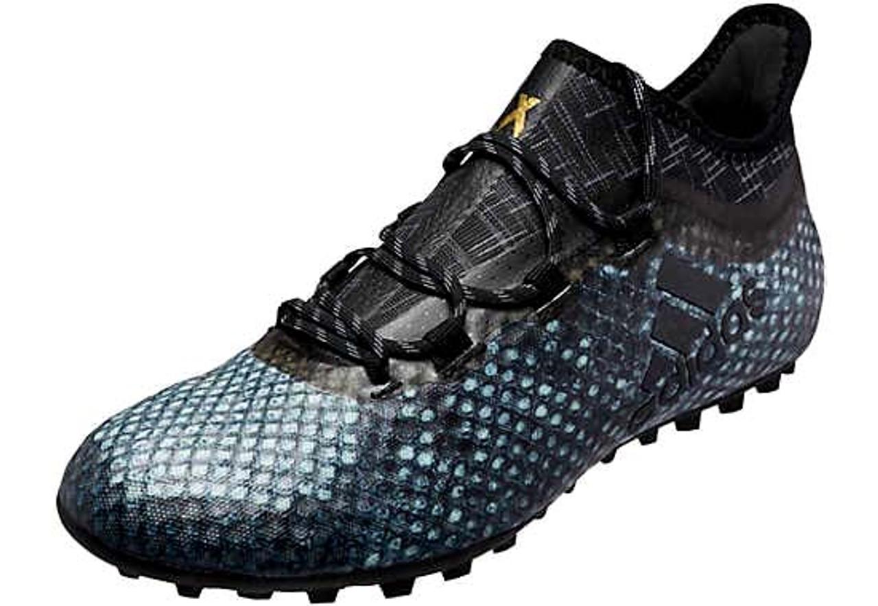 competitive price f208c edc00 ADIDAS X 16.1 CAGE men s turf soccer shoes vapor green black - Soccer Plus