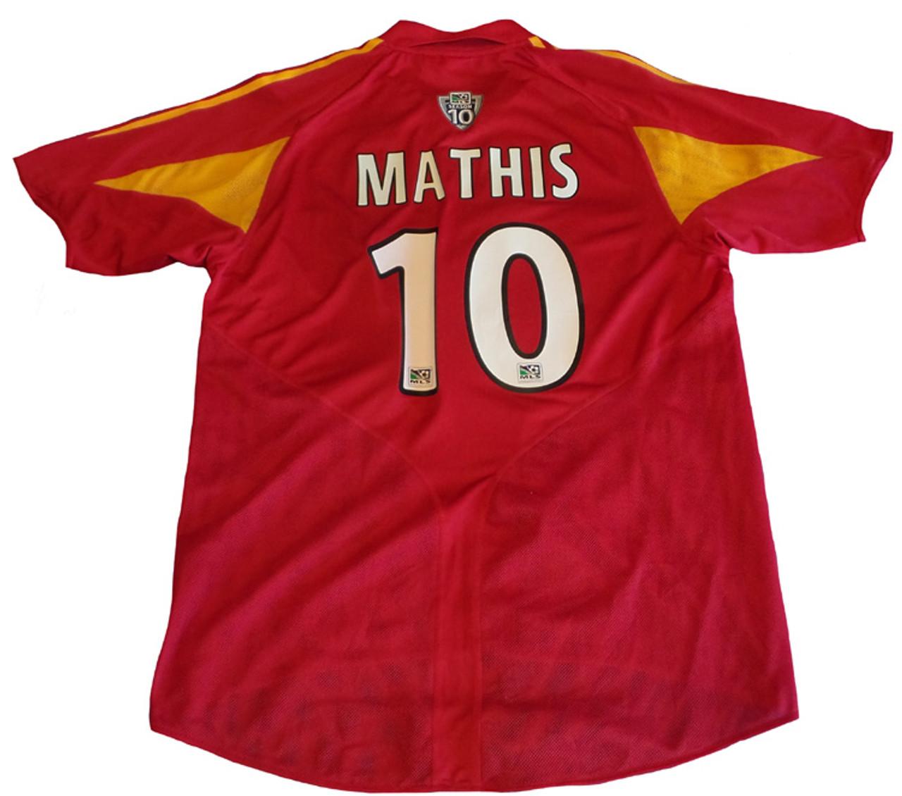 e84a7899c00 ADIDAS REAL SALT LAKE 2006 MATHIS HOME JERSEY - Soccer Plus