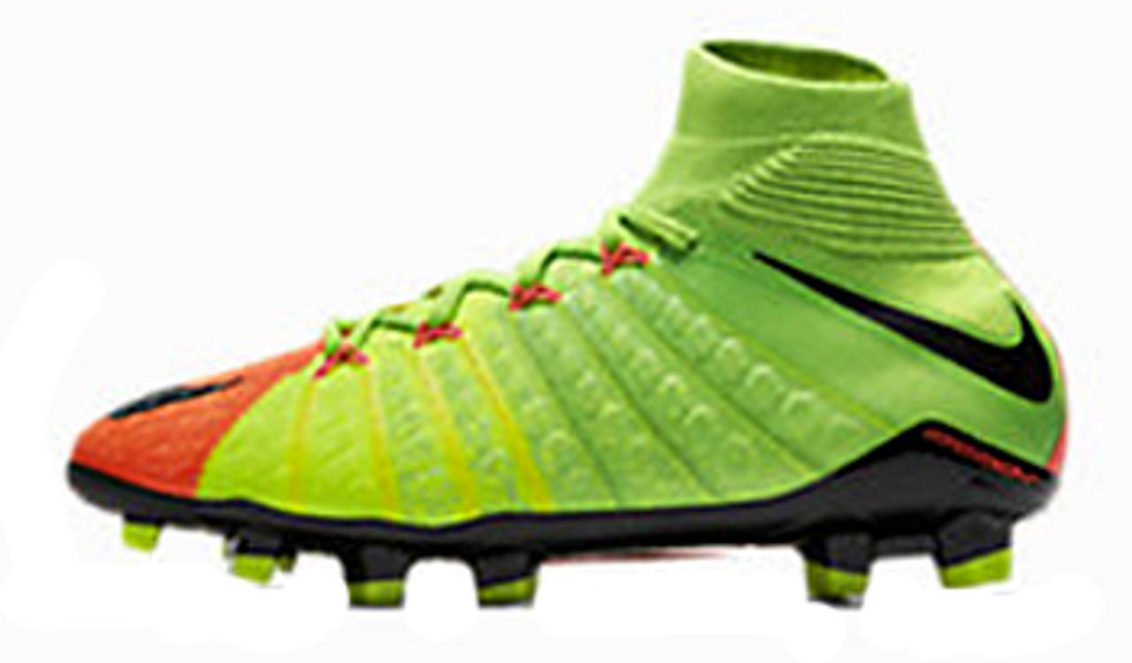 8d2a0bc129c5 NIKE JR HYPERVENOM PHANTOM 3 DF FG electric green - Soccer Plus