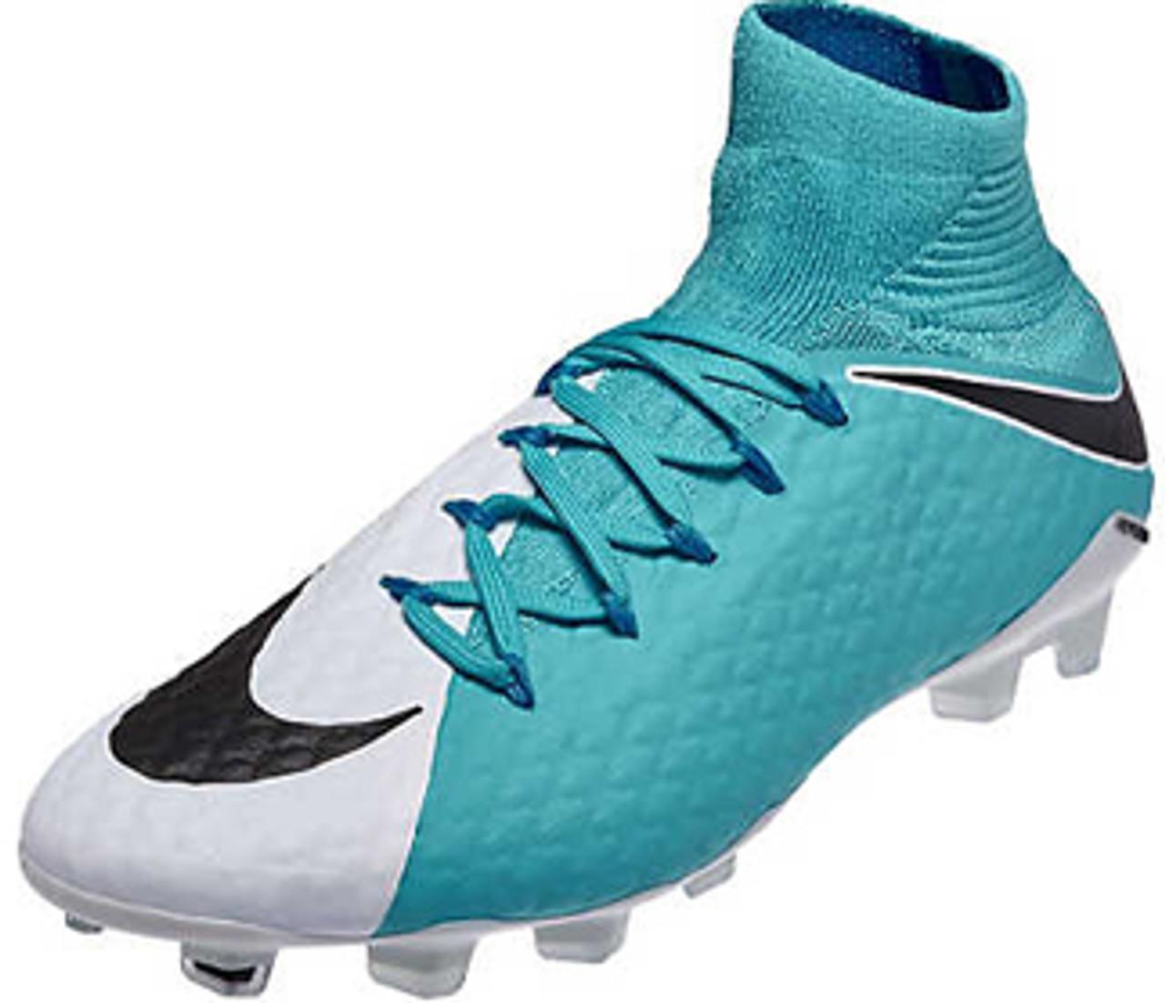 389671674d7f NIKE HYPERVENOM PHATAL III FG white photo blue - Soccer Plus