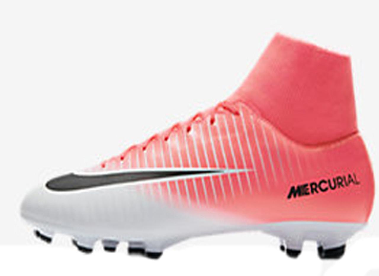 965bf26158af NIKE MERCURIAL VICTORY VI DF FG racer pink - Soccer Plus
