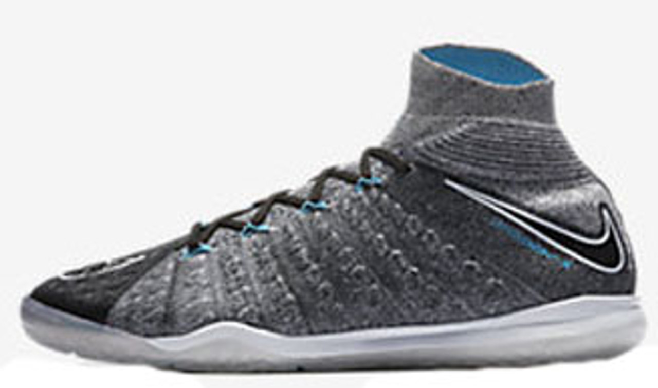 Nike HypervenomX Proximo II DF TF NIKE HYPERVENOMX PROXIMO II DF IC wolf grey - Soccer Plus
