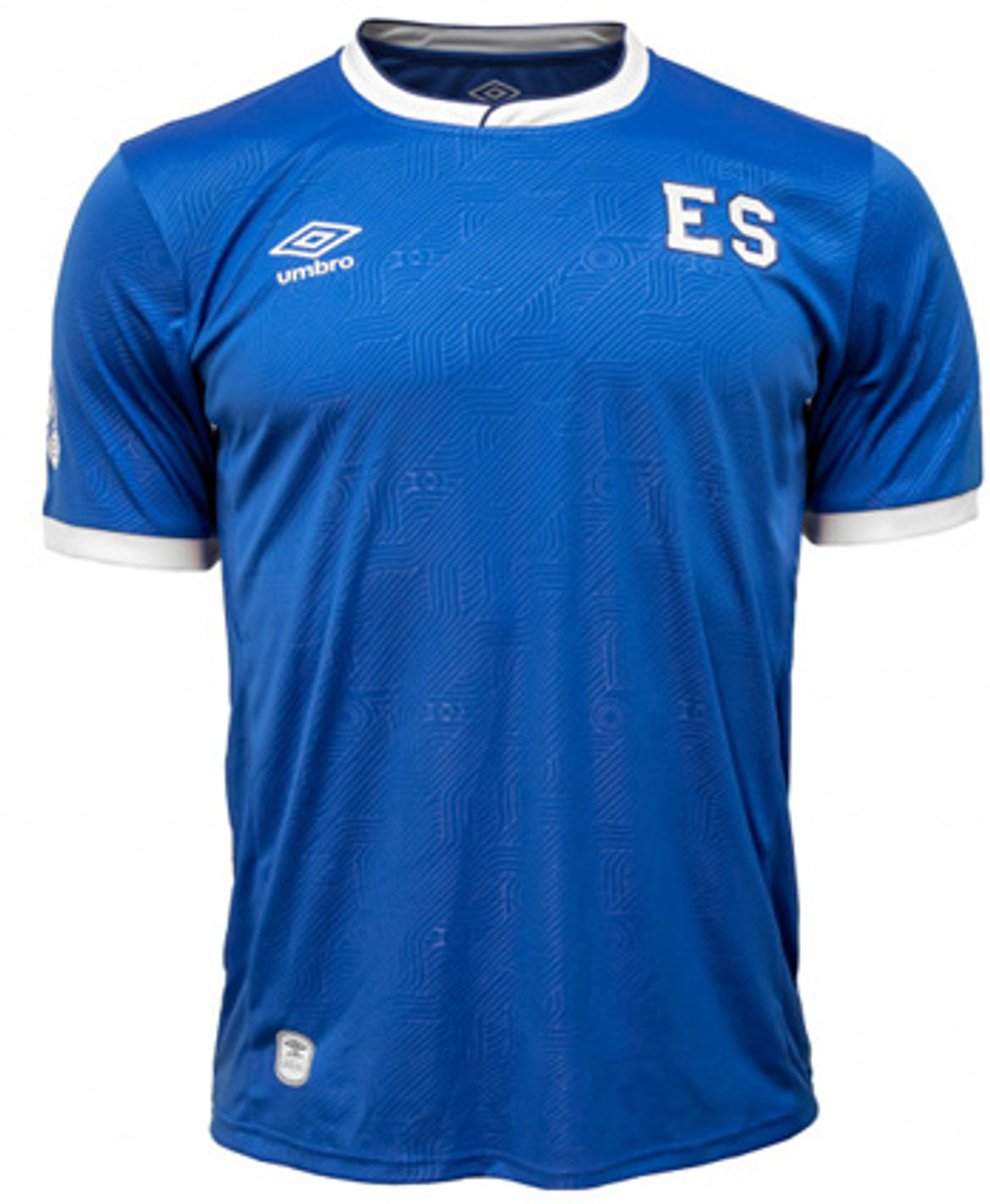 sports shoes 3f9f7 55f18 UMBRO EL SALVADOR 2018 HOME JERSEY BLUE