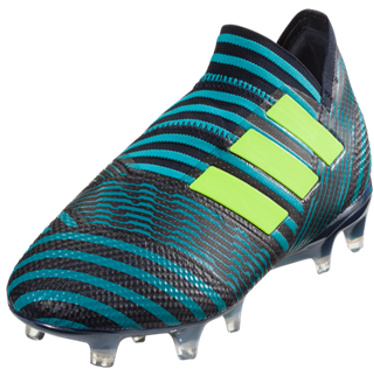 7d577ae85 adidas Nemeziz 17+ 360Agility FG Soccer Cleat - Legend Ink/Solar Yellow/Energy  Blue - Soccer Plus