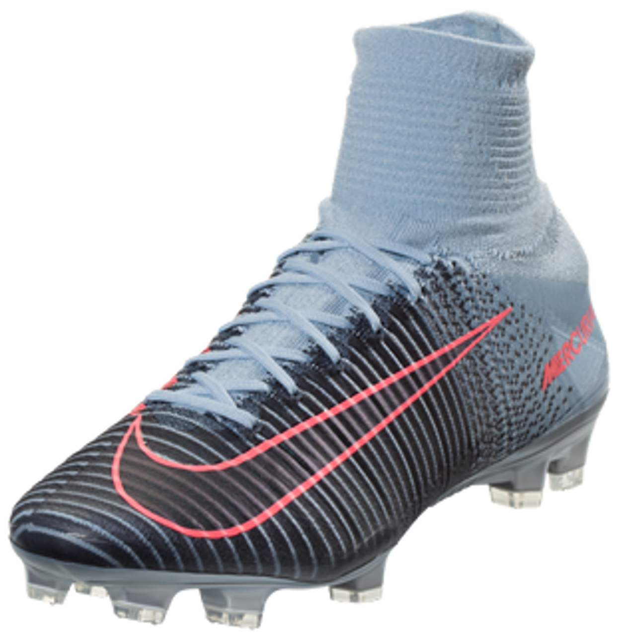 sale retailer 601e2 36b48 Nike Mercurial Superfly V FG Soccer Cleat - Light Armory Blue/Armory  Navy/Armory Blue/Hot Punch