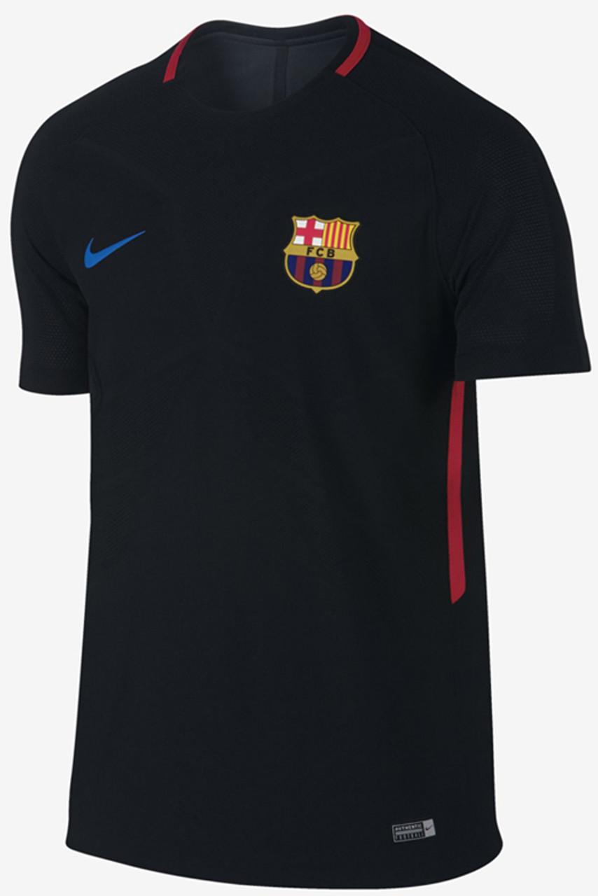 f852921e4 Nike Barcelona Aeroswift Strike Top 2018 Black - Soccer Plus