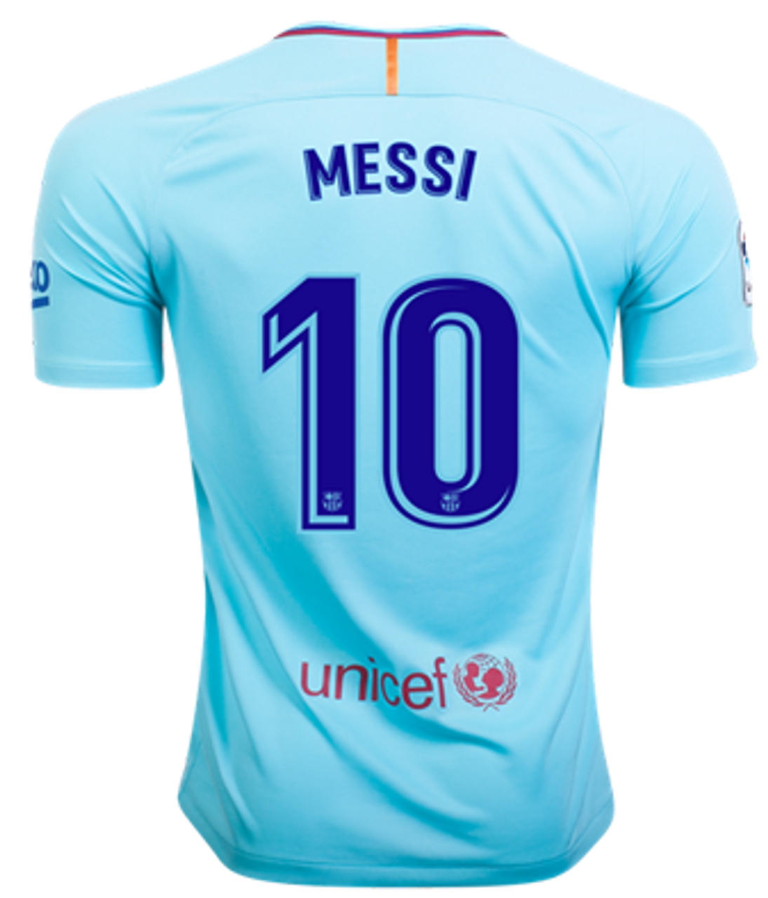 new product 5c756 32242 NIKE BARCELONA 2018 AWAY MESSI JERSEY polarized blue