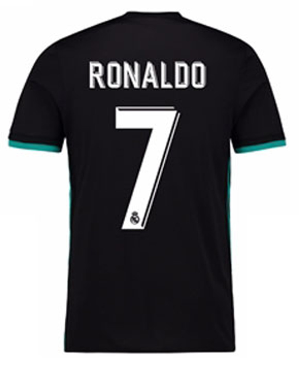 5d8d2d764 ADIDAS REAL MADRID 2018 AWAY RONALDO BLACK JERSEY - Soccer Plus