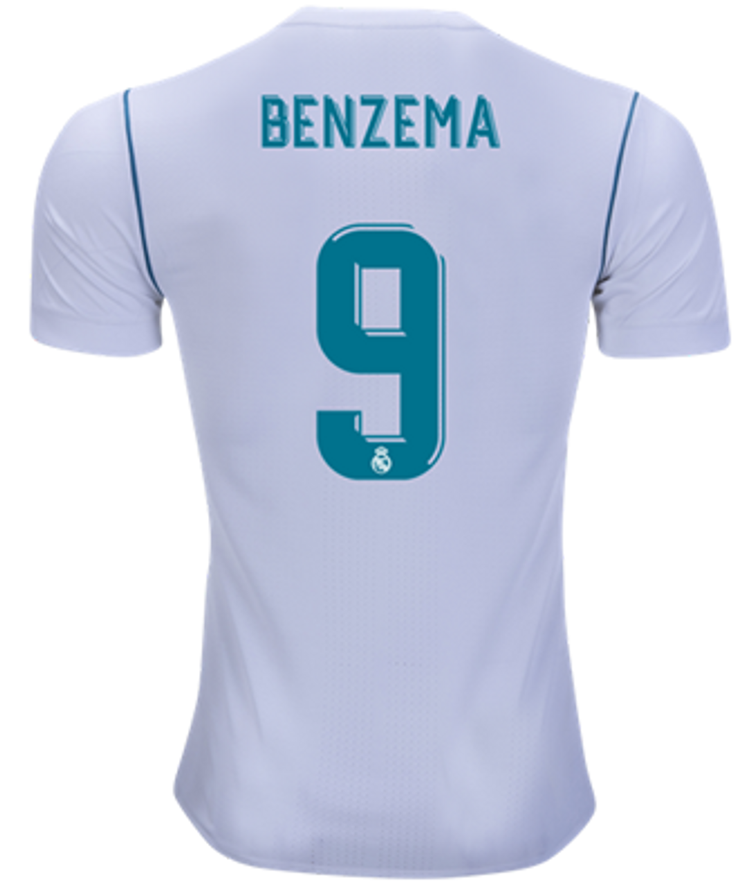 c0f79bef0 ADIDAS REAL MADRID 2018 AUTHENTIC HOME BENZEMA JERSEY - Soccer Plus
