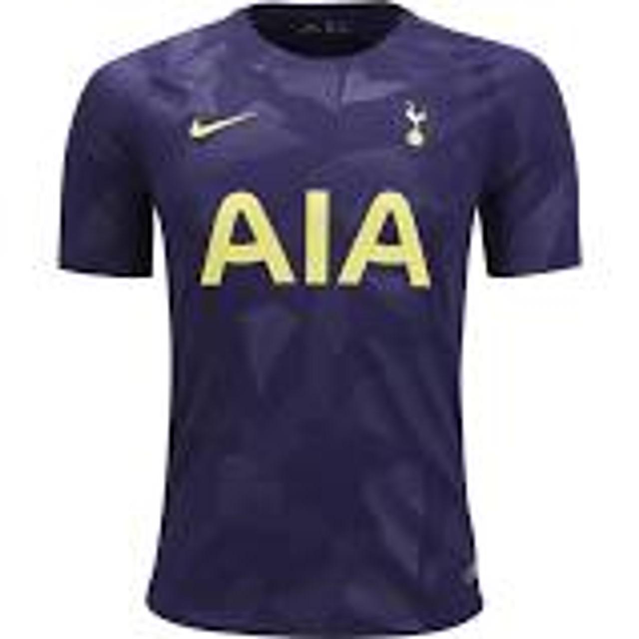 Nike Tottenham 2018 3rd Jersey Purple Soccer Plus