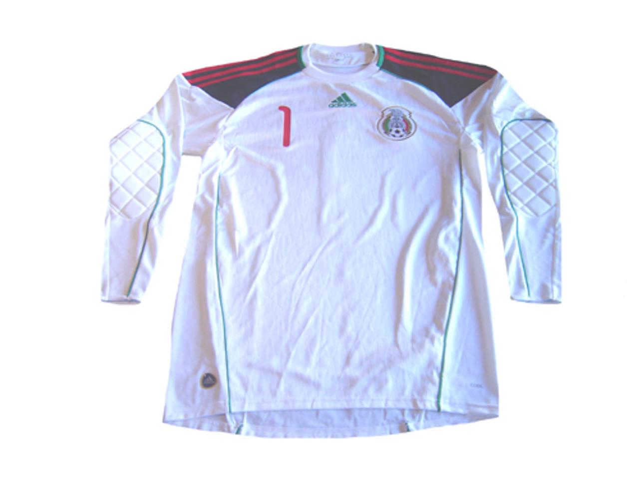 aa874bc01 ADIDAS MEXICO 2010`OCHOA` G/K JERSEY WHITE - Soccer Plus