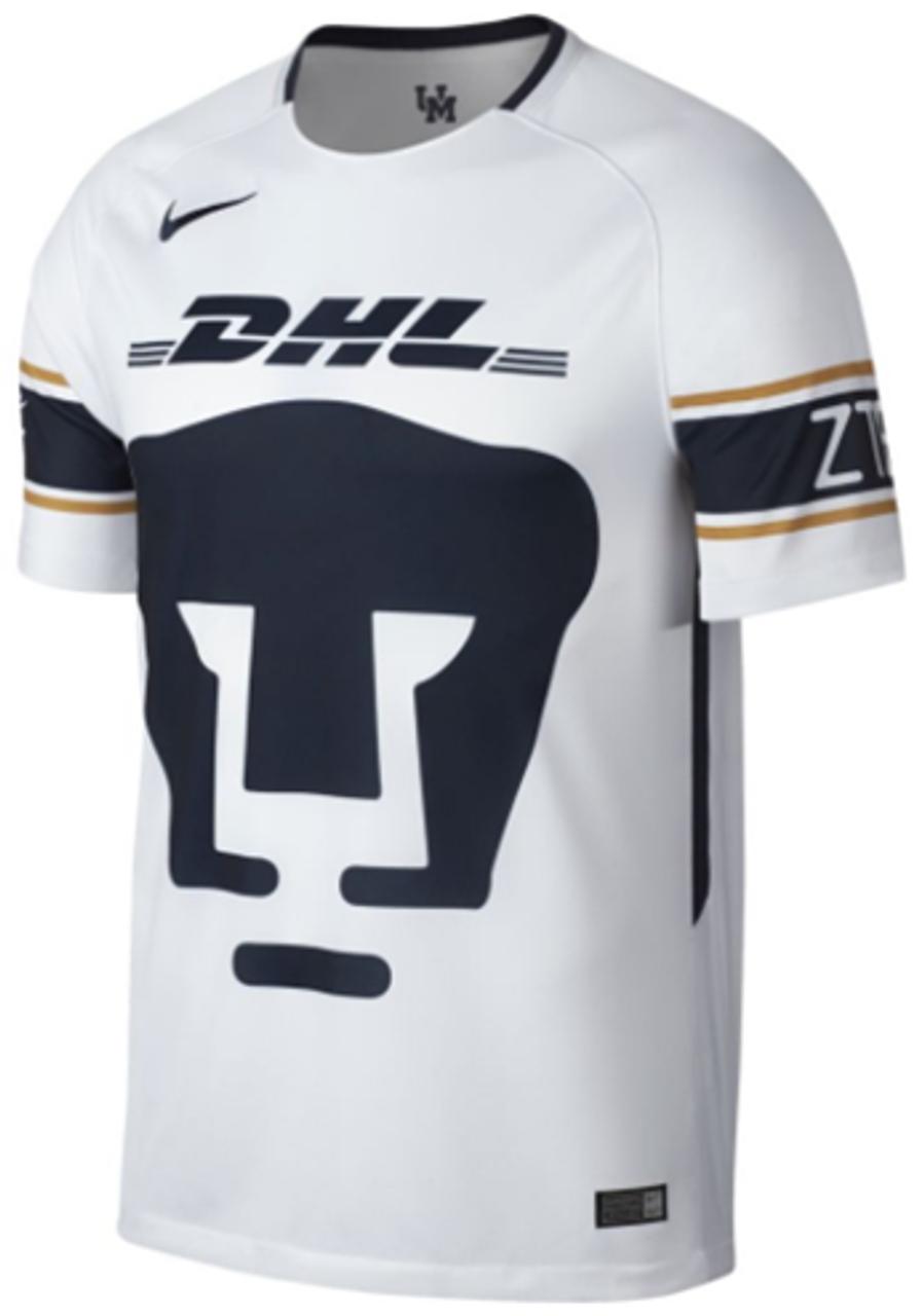 ea8b3b97b Nike Pumas UNAM Away Jersey 17/18 white - Soccer Plus