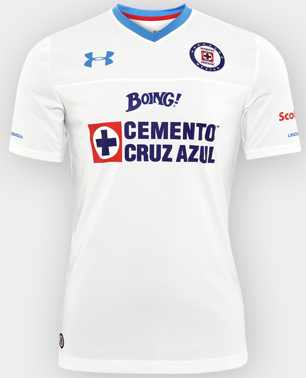 fd95b1b1 UNDER ARMOUR CRUZ AZUL 2017 AWAY JERSEY WHITE - Soccer Plus