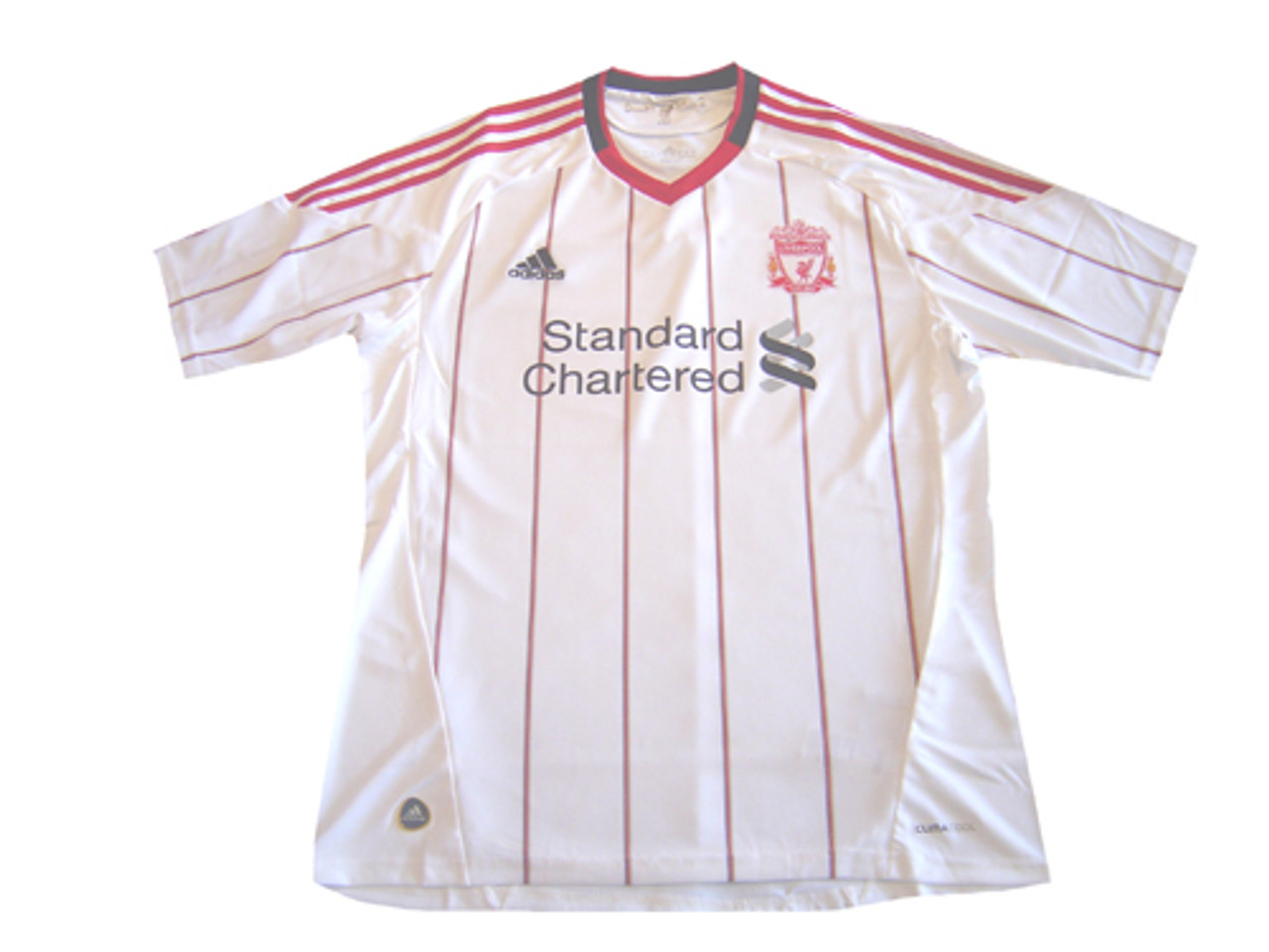 huge selection of 6ffe9 df390 ADIDAS LIVERPOOL 2011 AWAY WHITE JERSEY