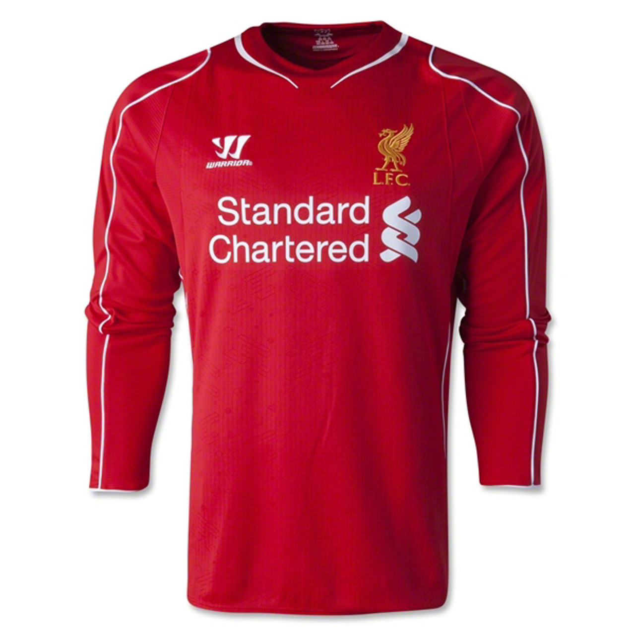 cheap for discount cbbc6 f8553 WARRIOR LIVERPOOL 2015 HOME L/S JERSEY