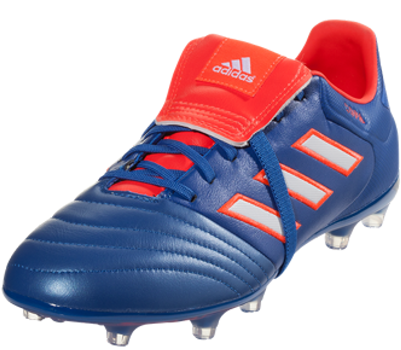 beaff77a2f82 adidas Copa Gloro 17.2 FG Soccer Cleat - Blue/White/Solar Red - Soccer Plus
