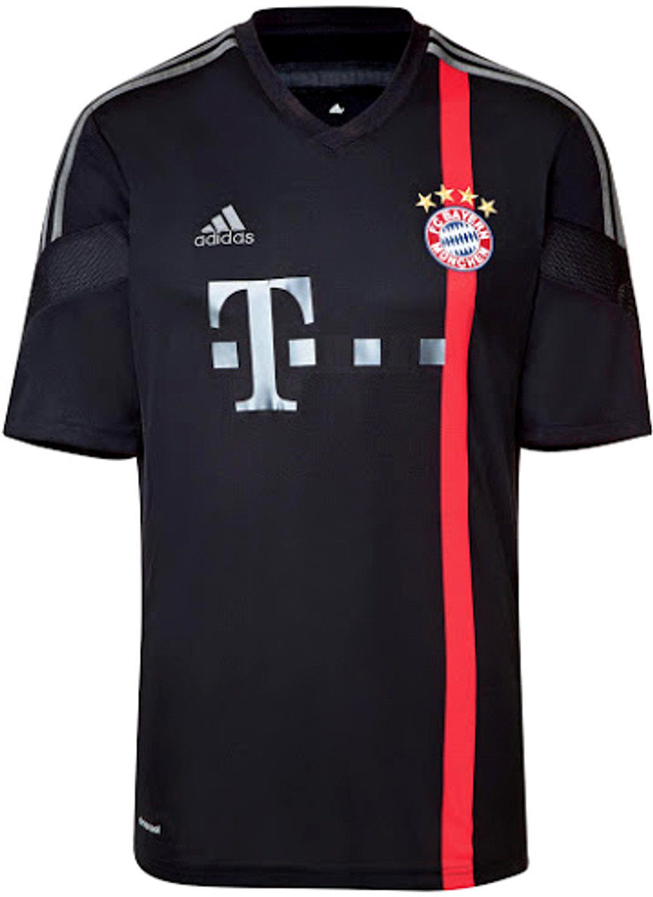 hot sale online 47b9f 91ef2 ADIDAS BAYERN MUNICH 2015 AWAY JERSEY BLACK