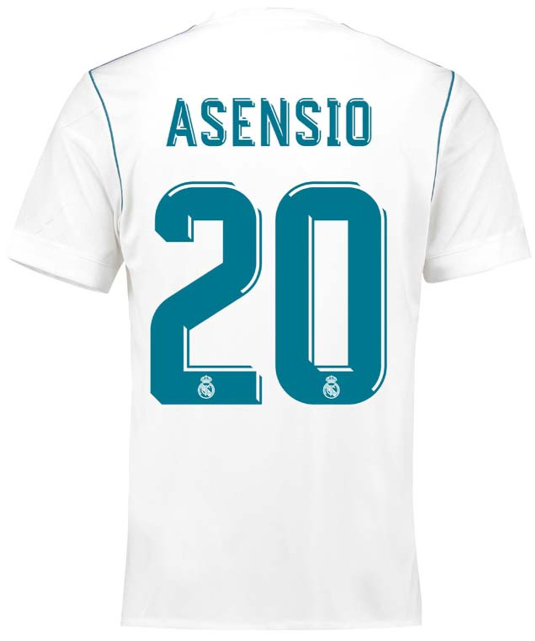 414774bc2 ADIDAS REAL MADRID 2018 ASENSIO HOME JERSEY - Soccer Plus