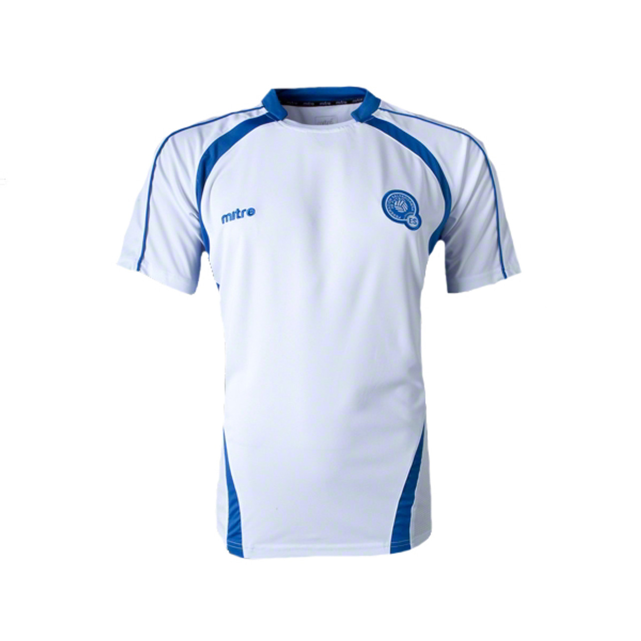 90e0145b9 MITRE EL SALVADOR 2014 AWAY JERSEY WHITE - Soccer Plus
