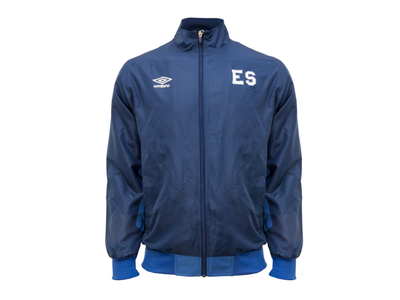 1dc2b32f33f UMBRO El SALVADOR 2019 Training Jacket blue - Soccer Plus