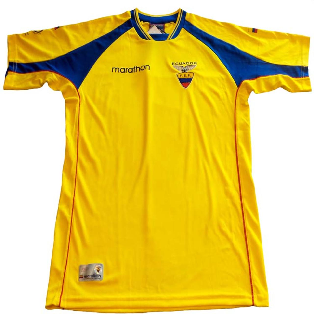 9e09def91eb MARATHON ECUADOR 2002 HOME JERSEY - Soccer Plus