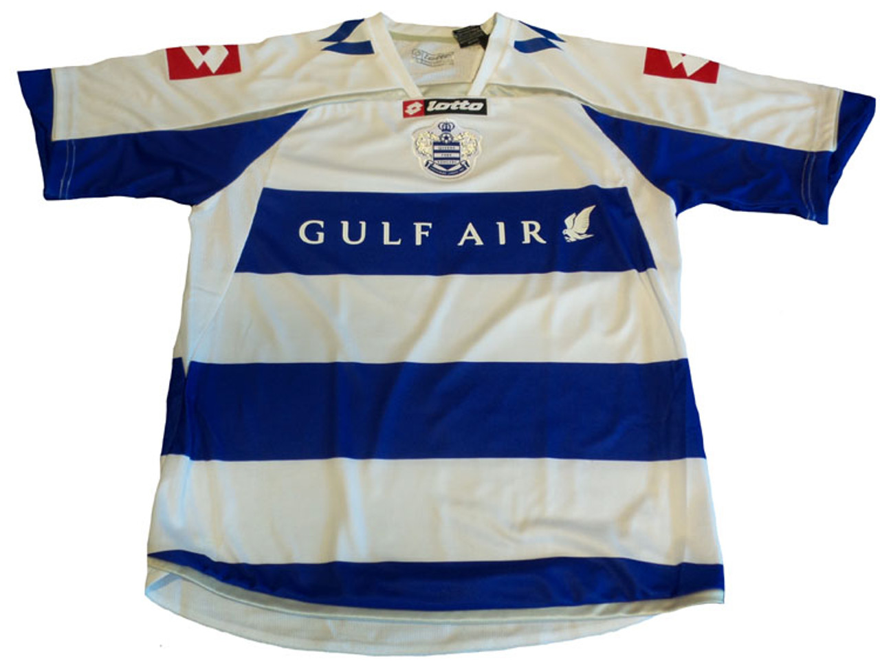 lowest price 296a8 3338e LOTTO QPR 2010 HOME JERSEY