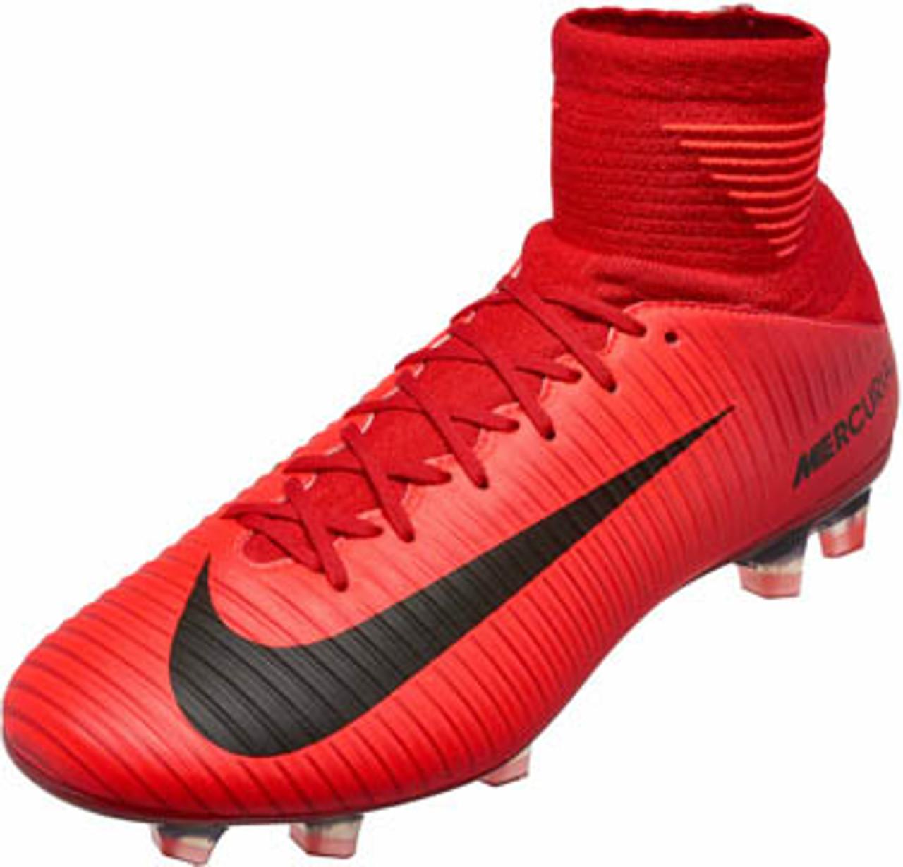 Marketing de motores de búsqueda ¿Cómo Enriquecimiento  NIKE MERCURIAL VELOCE III DF FG university red - Soccer Plus