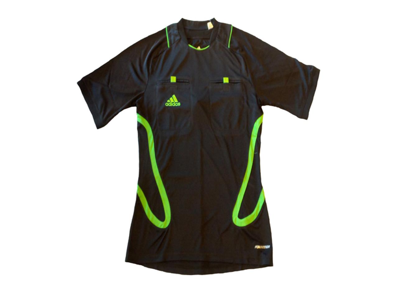 ADIDAS UEFA CL 2012 OFFICIAL REFEREE SHIRT BLACK