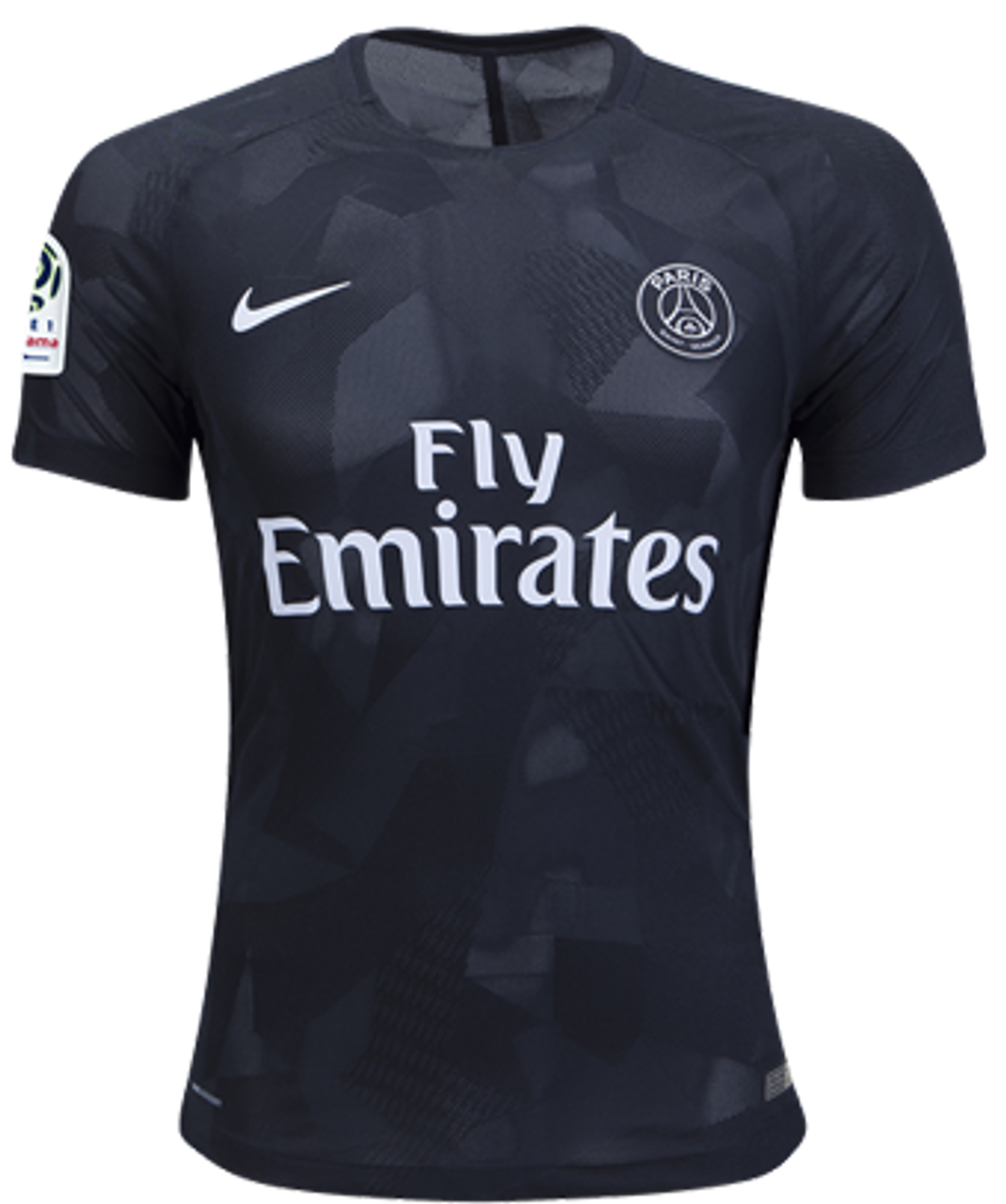 b862a123a NIKE PARIS SAINT GERMAIN 2018 BLACK 3RD JERSEY - Soccer Plus