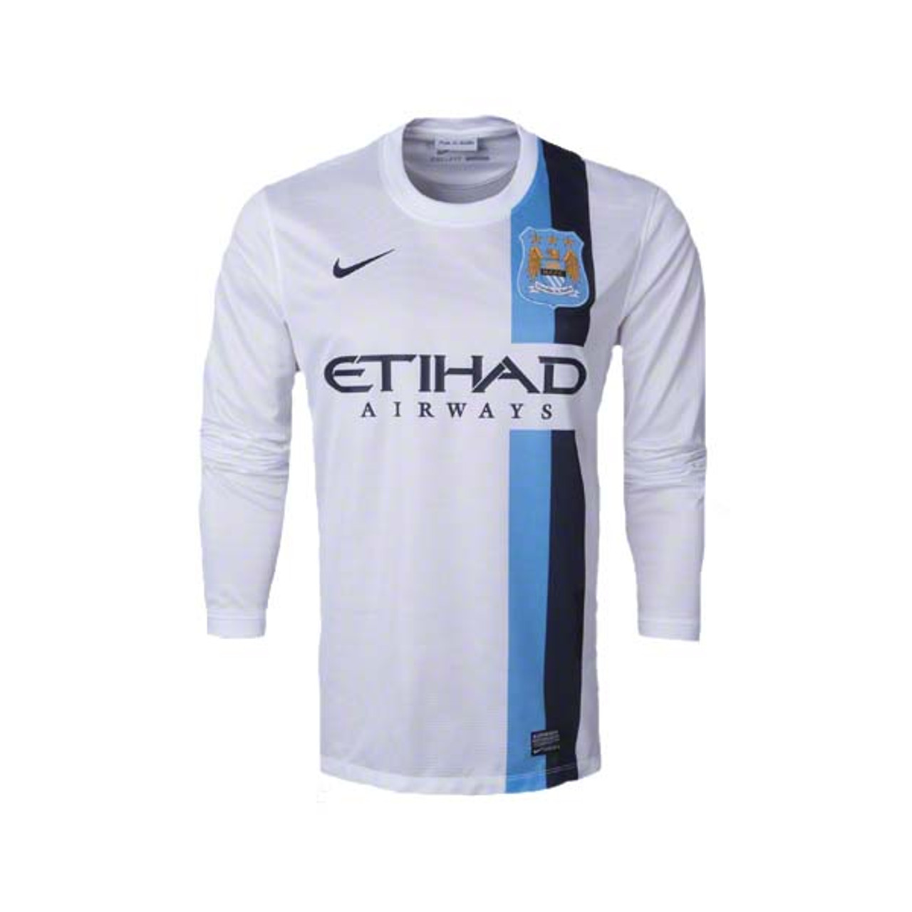 huge discount 092dc cdbf9 NIKE MANCHESTER CITY 2014 WHITE L/S JERSEY