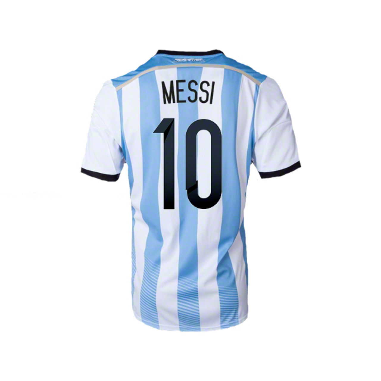 ADIDAS ARGENTINA WORLD CUP 2014 HOME `MESSI` JERSEY