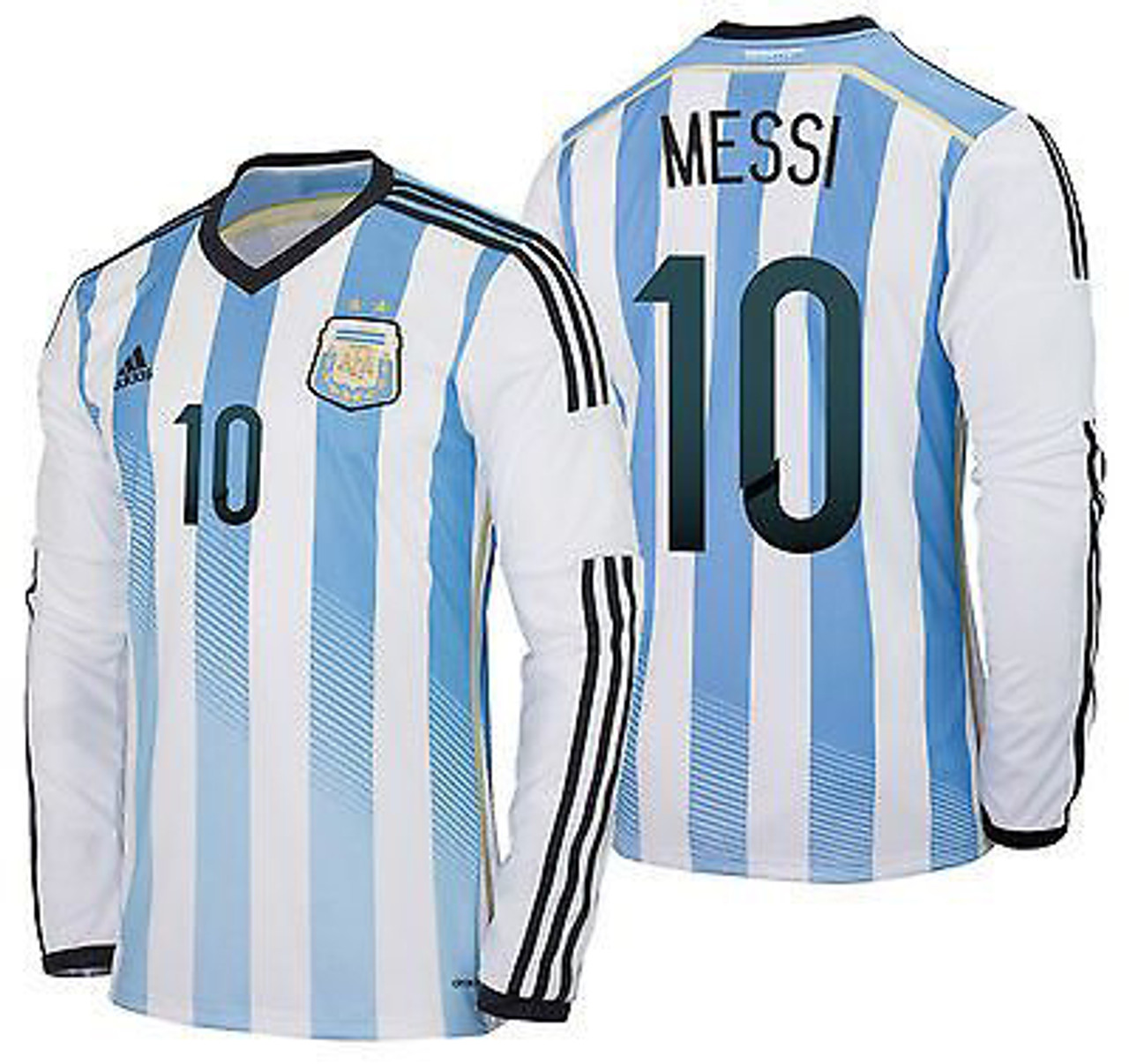 ADIDAS ARGENTINA 2014 HOME L/S `MESSI