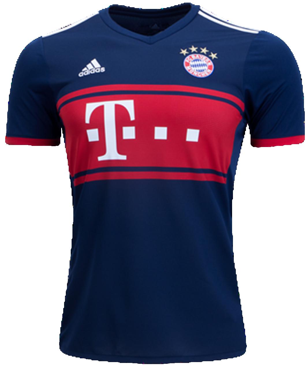 adidas Bayern Munich 2016-2017 L//S Home Soccer Jersey Brand New Red White