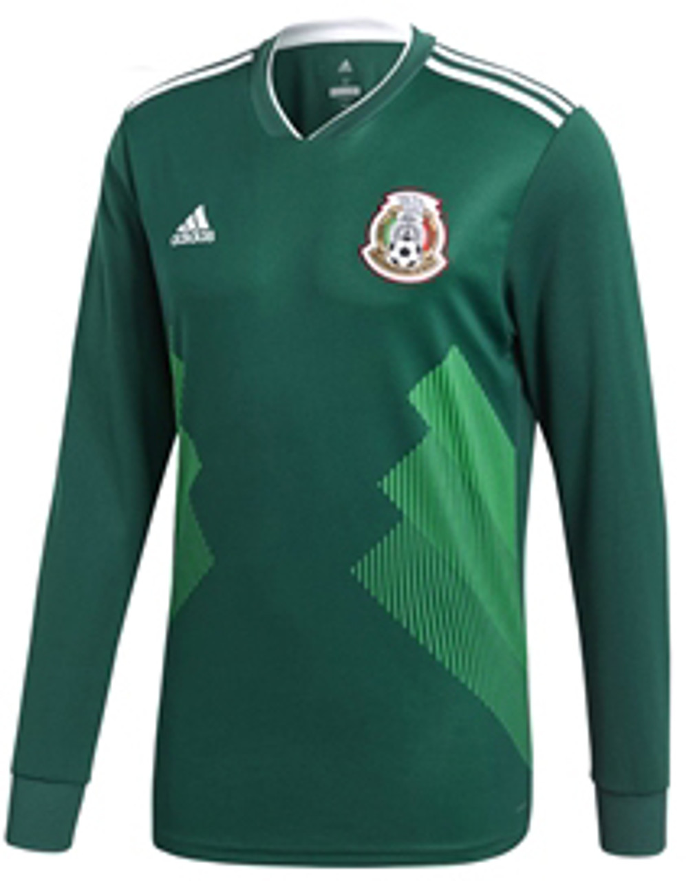 ADIDAS MEXICO WORLD CUP 2018 HOME L/S JERSEY