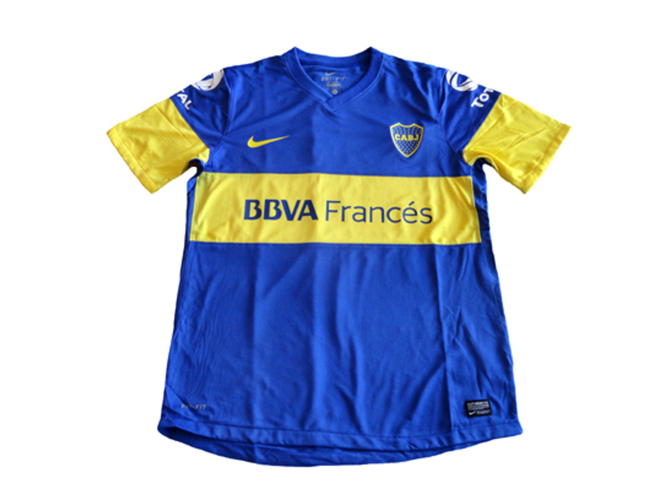 964f67dfab9 NIKE BOCA JUNIORS 2012 AUTHENTIC HOME JERSEY - Soccer Plus