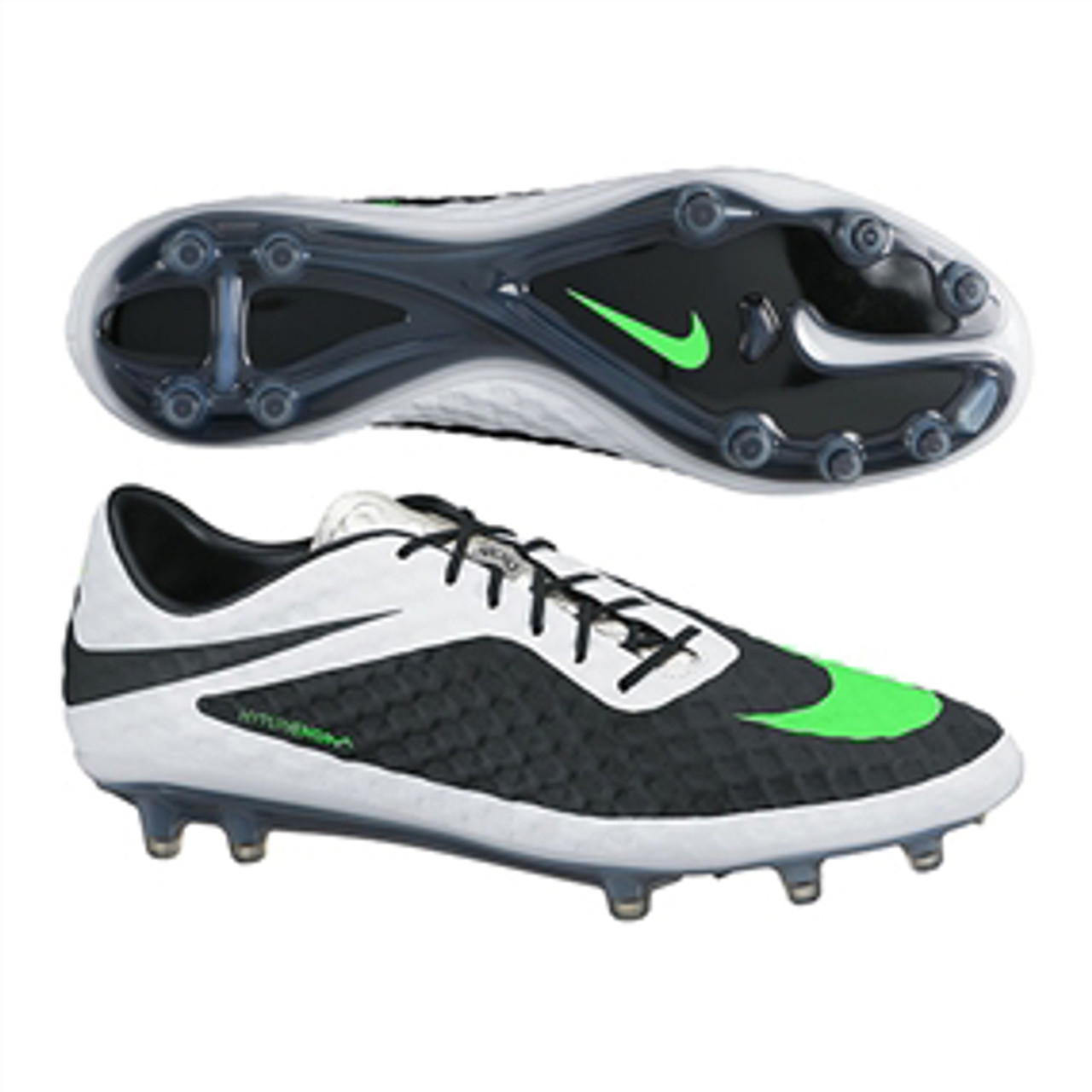 official photos 861a4 52316 NIKE HYPERVENOM PHANTOM FG white/black/neo green