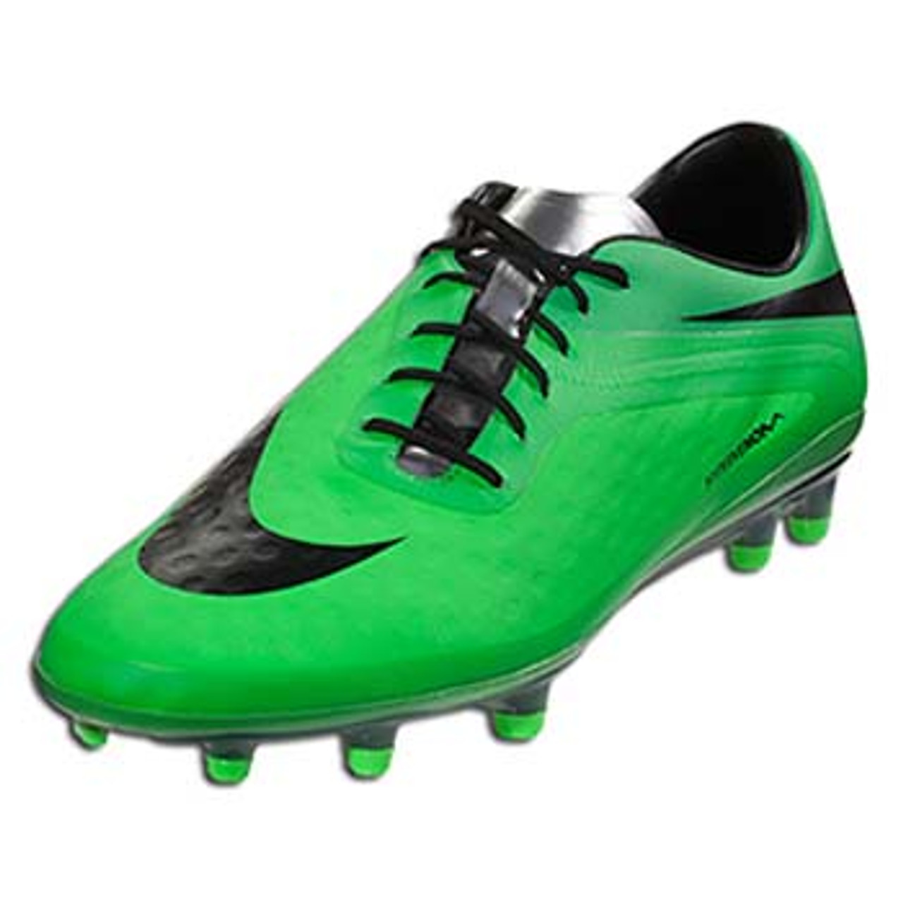authentic price reduced new high quality Nike Hypervenom Phatal FG (Neo Lime/Green/Metallic Silver/Black)