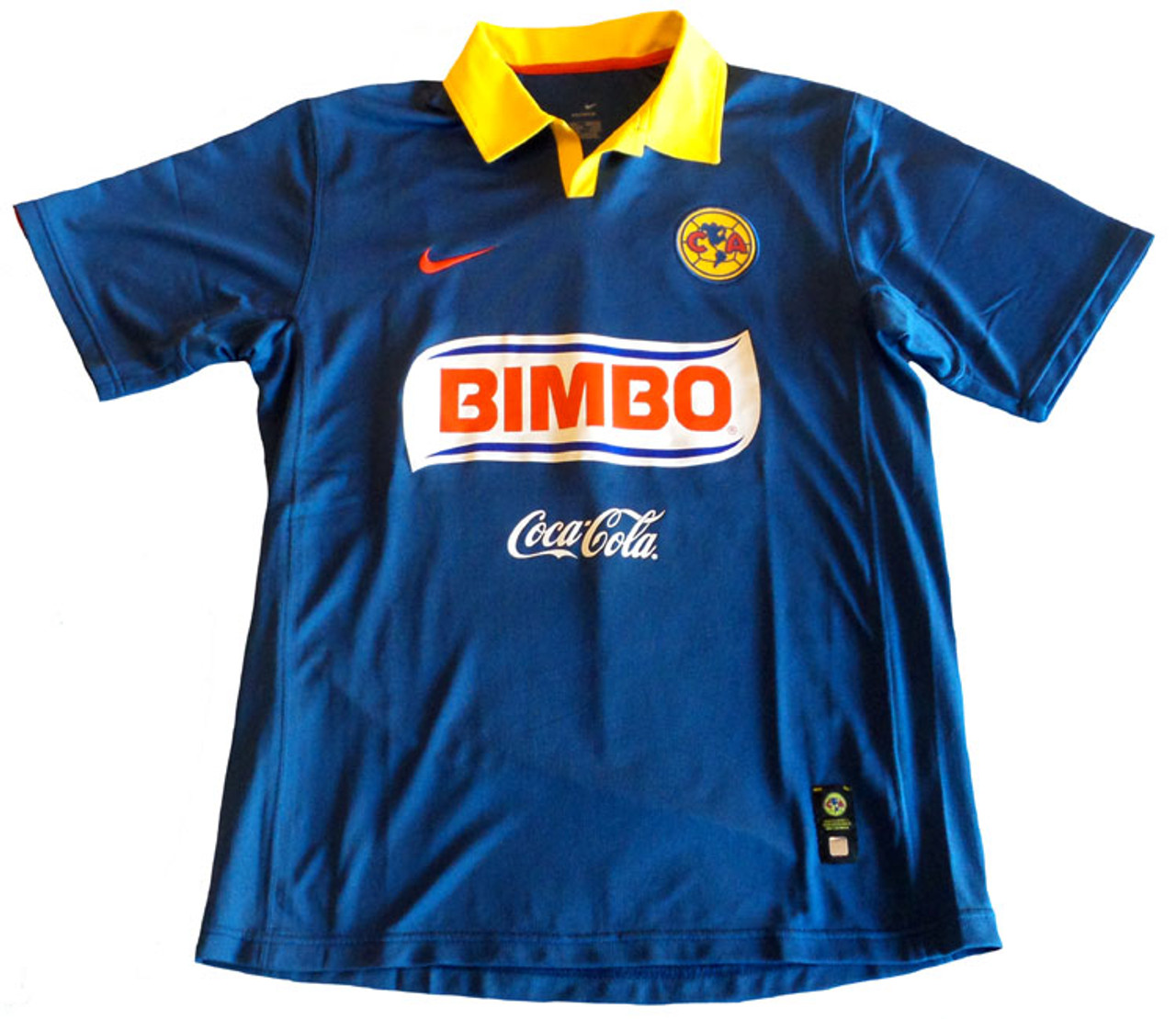 704db66c82 NIKE AMERICA 2007 AWAY JERSEY BLUE - Soccer Plus