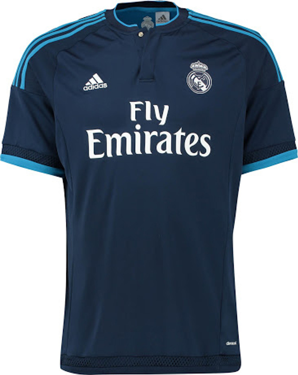 best website cac5a 83ca2 ADIDAS REAL MADRID 2016 AWAY 3rd JERSEY NAVY