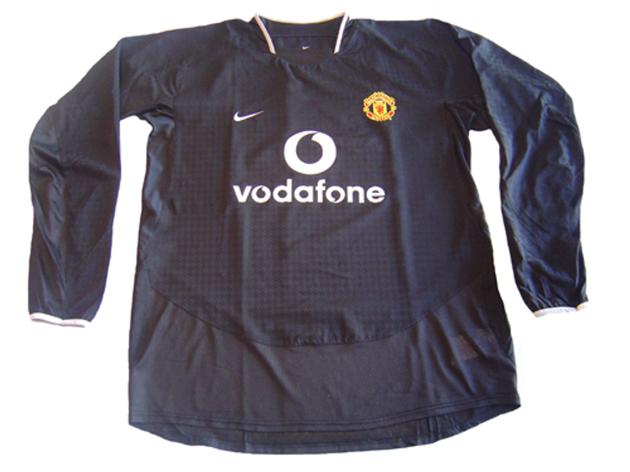 outlet store b51a1 655e0 NIKE MANCHESTER UNITED 2005 AWAY L/S JERSEY BLACK