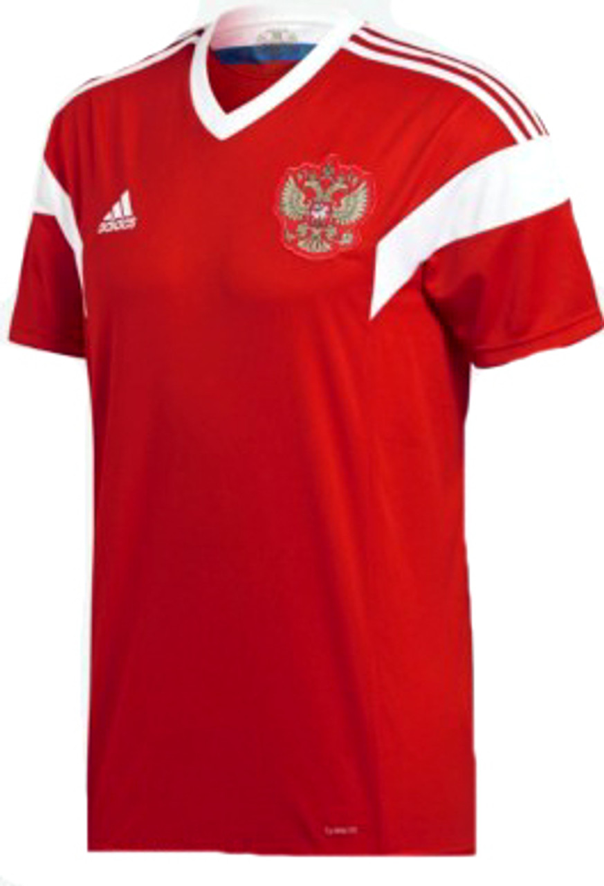 ADIDAS RUSSIA 2018 WORLD CUP HOME JERSEY RED