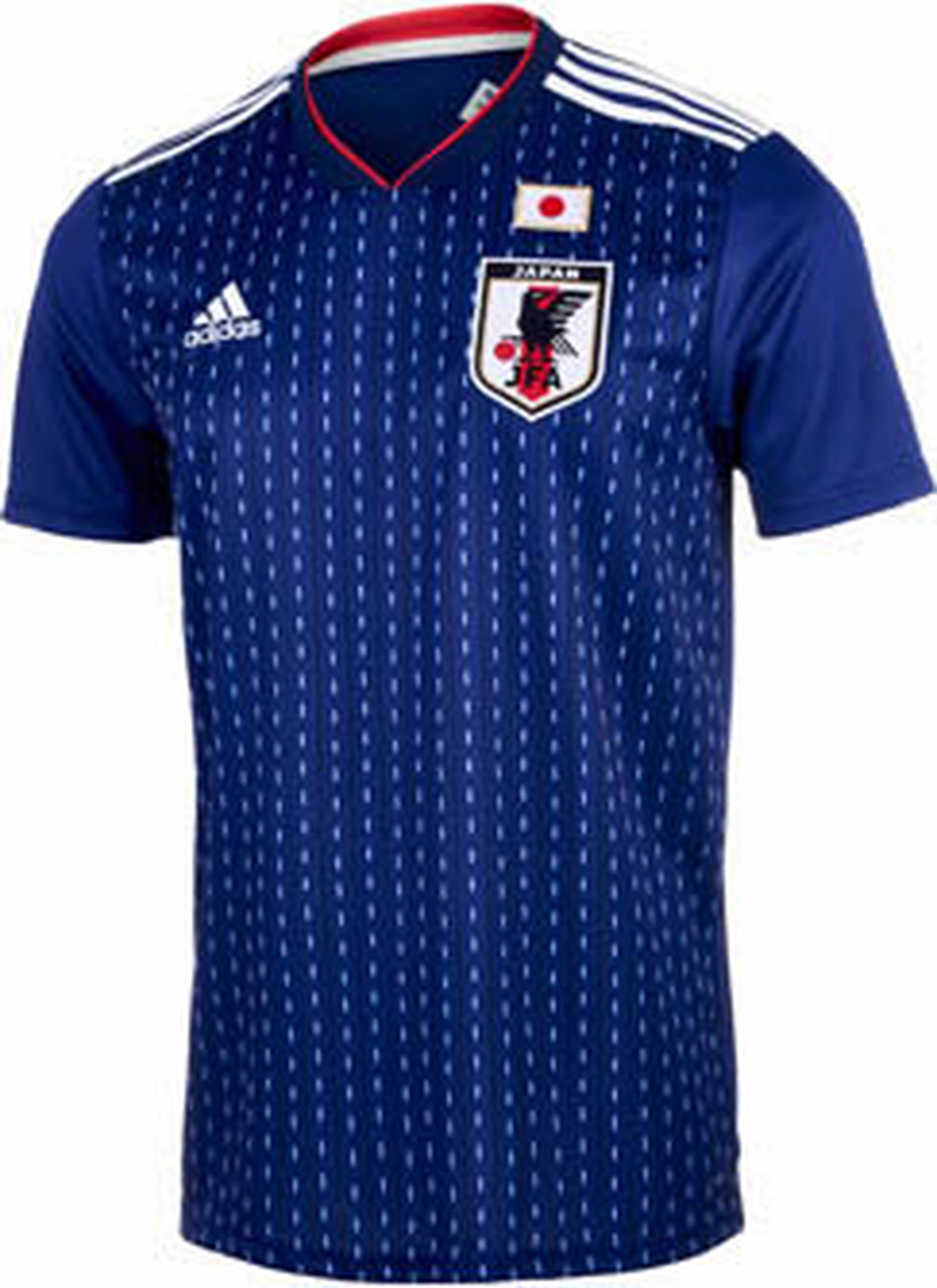 Volcán golpear Cadena  ADIDAS JAPAN 2018 WORLD CUP HOME JERSEY BLUE - Soccer Plus